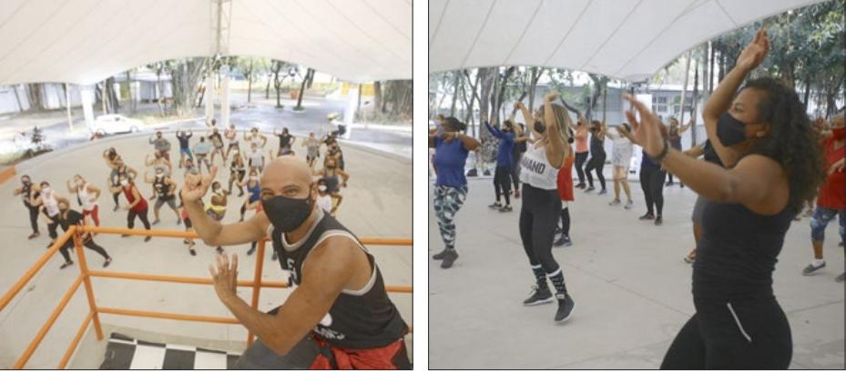 Inscrições para atividades físicas gratuitas nos hortos do Barreto e do Fonseca