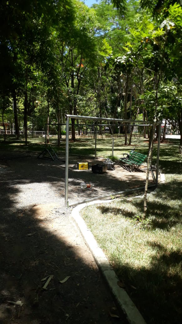 Começa a obra do ParCão do Campo de São Bento